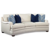 Huntington House 2061 Conversation Sofa with Curved Arms ...