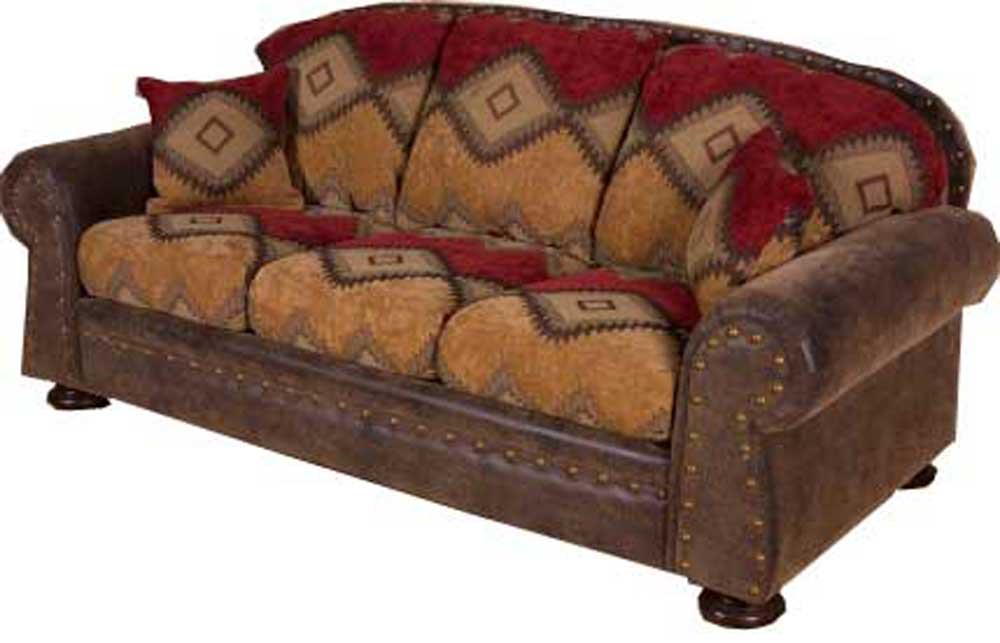 southwestern sofas modern reclining sectional intermountain furniture navajo southwest style sofa boulevard home