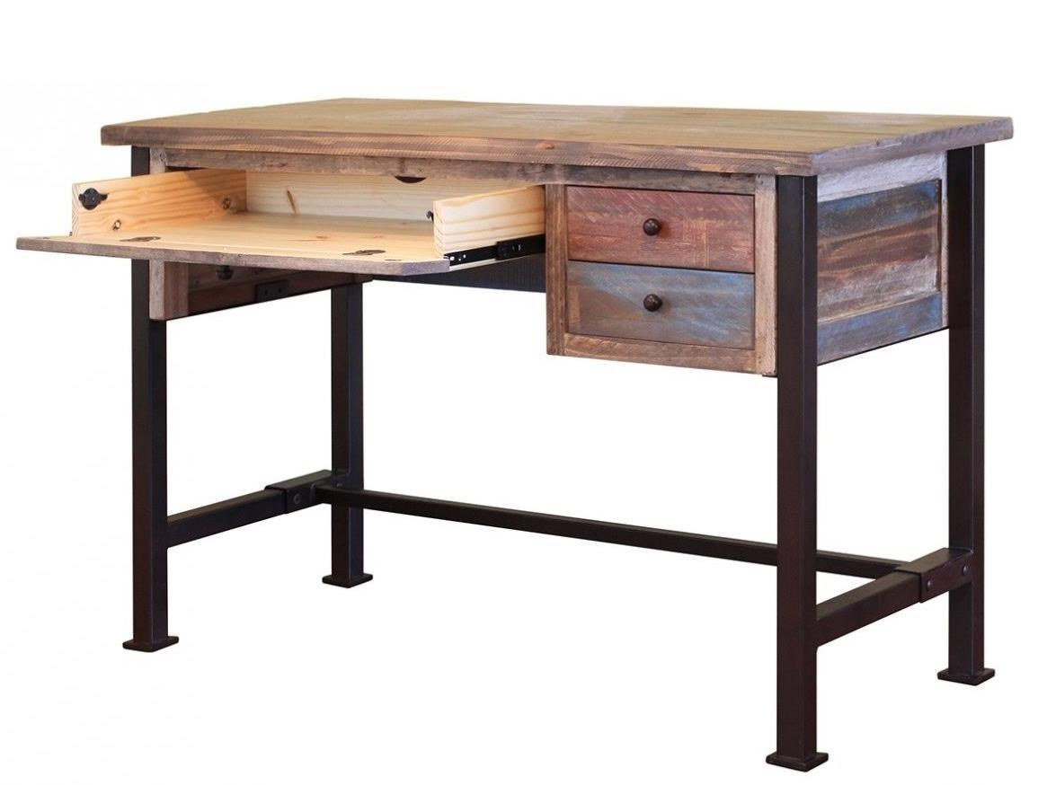 International Furniture Direct 900 Antique IFD968DESK