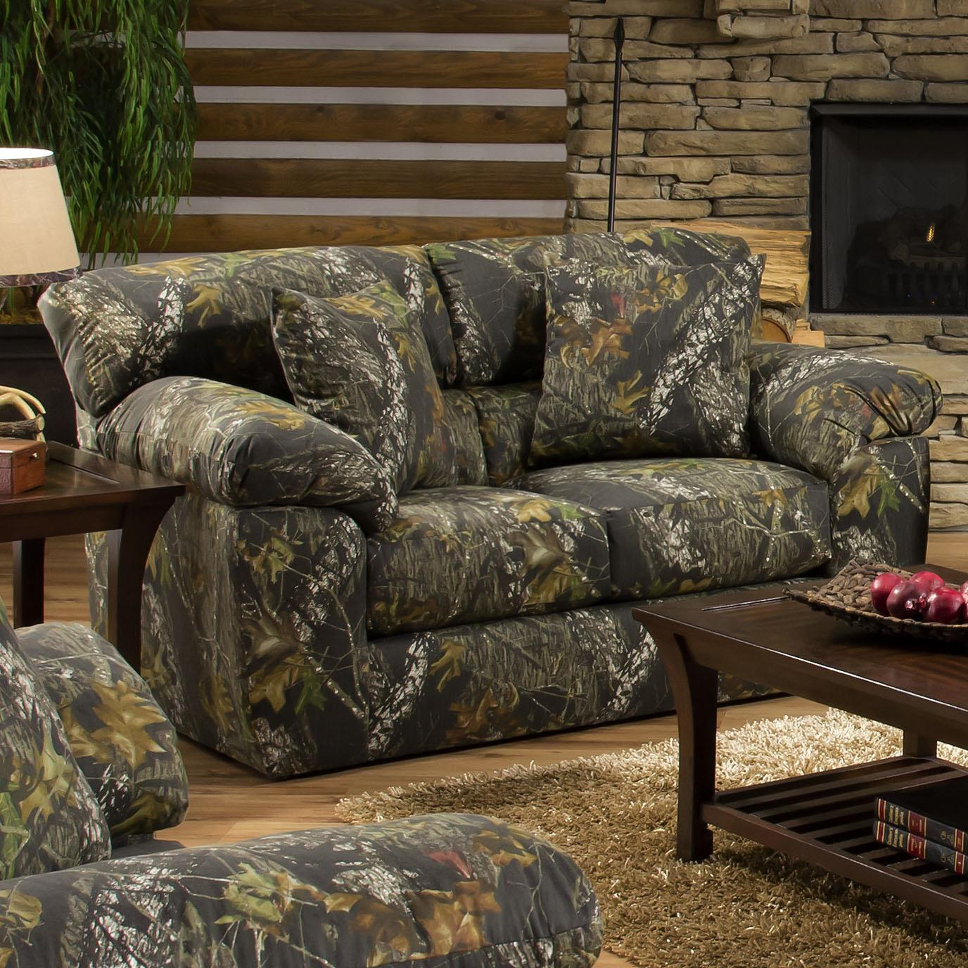 Jackson Furniture Big Game Camouflage Two Seat Loveseat