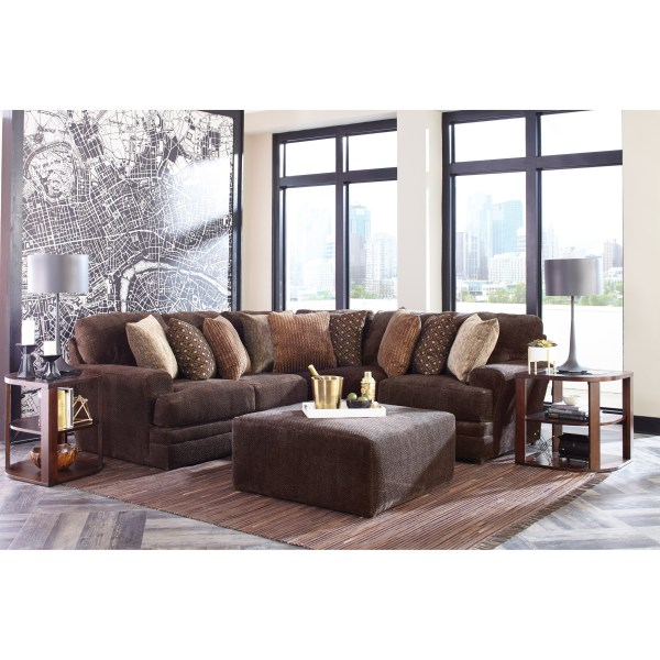 Jackson Furniture Mammoth Two Piece Sectional With Track