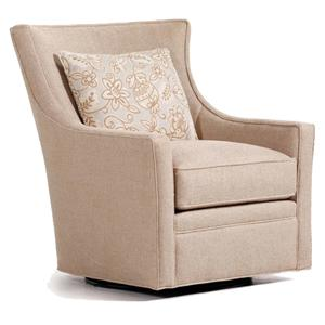 swivel upholstered chairs chair covers rental jessica charles fine accents landon with track delta