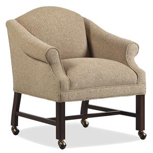 dining chairs on casters muskoka chair accessories with stuckey furniture trib game