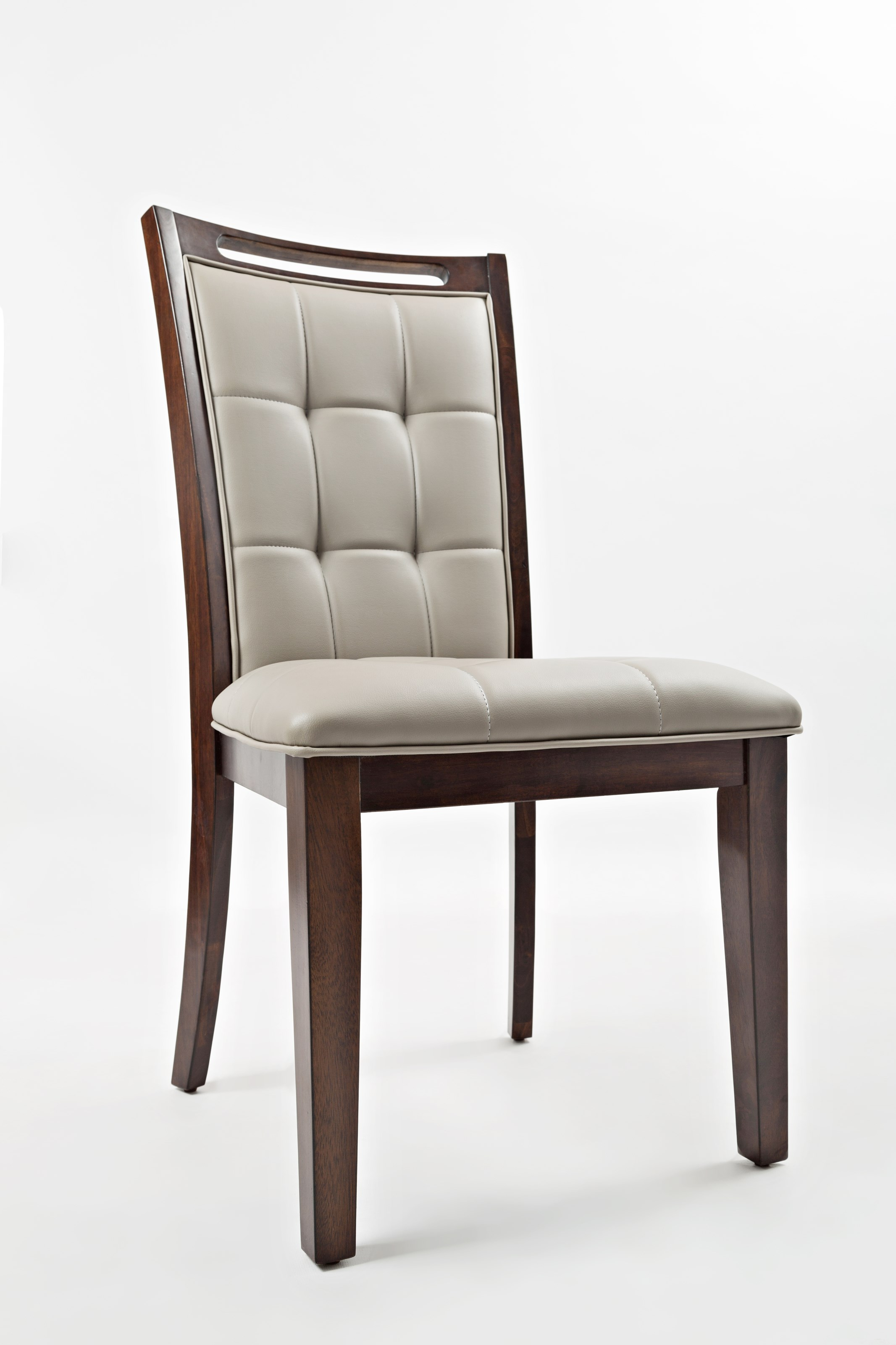 Jofran Manchester Upholstered Dining Chair  Stuckey