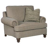 Kincaid Furniture Avery Traditional Chair and 1/2 with ...