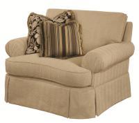 Kincaid Furniture Danbury 659-81 Traditional Skirted Chair ...