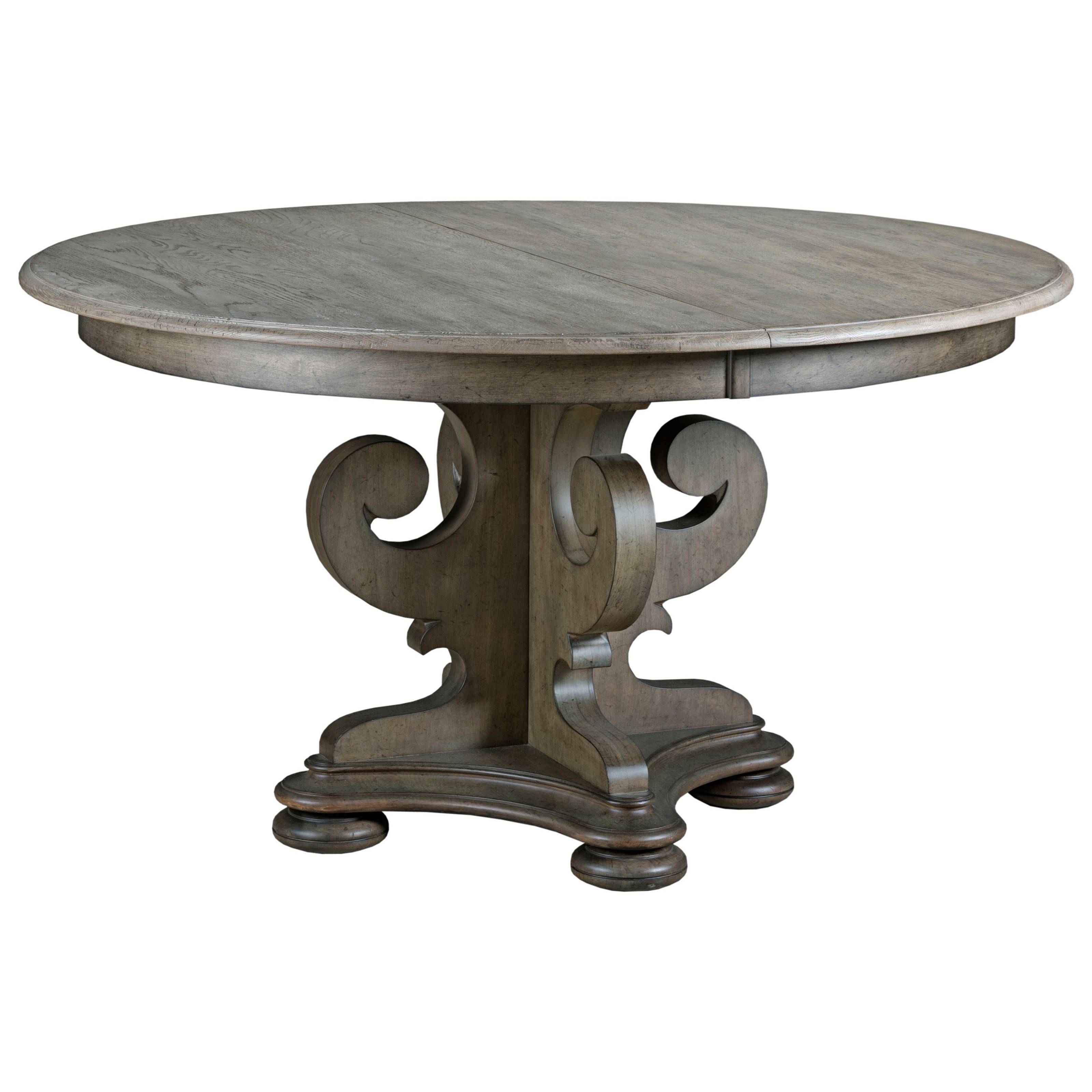 Kincaid Furniture Greyson 608 701p Grant Scrolled Pedestal