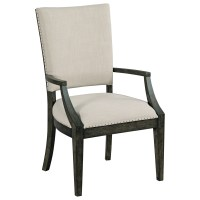 Kincaid Furniture Plank Road Howell Upholstered Dining Arm ...