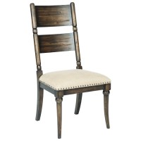 Kincaid Furniture Wildfire Post Side Chair with ...