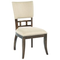 Kincaid Furniture Wildfire Tweed Upholstered Side Chair ...