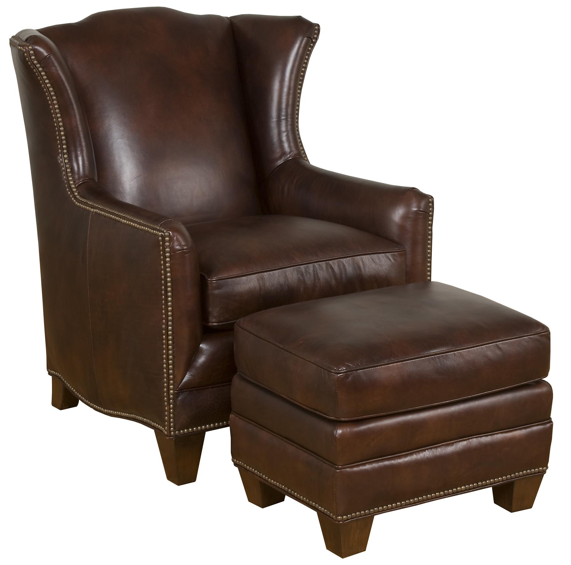 King Hickory Accent Chairs and Ottomans Athens Traditional