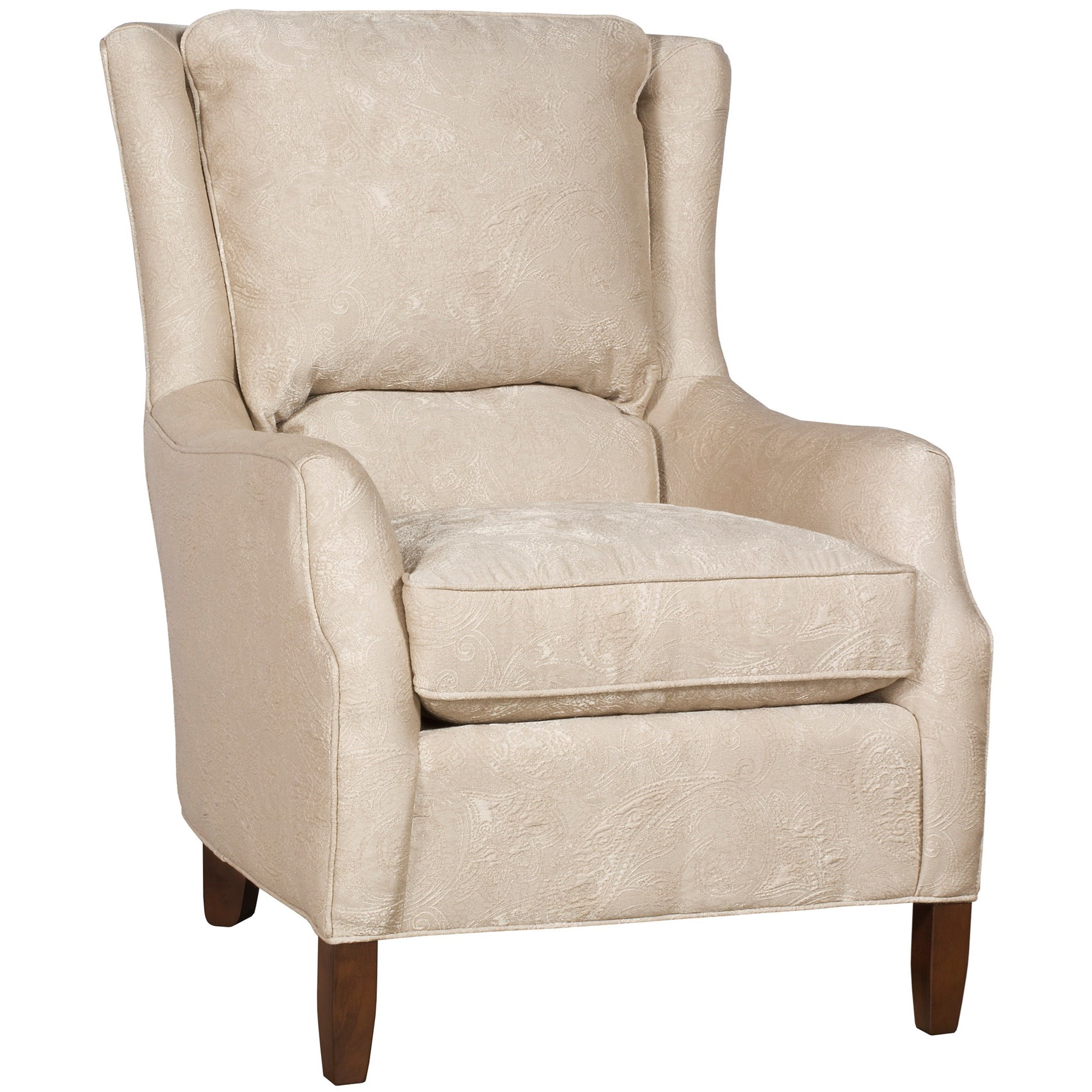 King Hickory Writer Traditional Upholstered Writer Chair