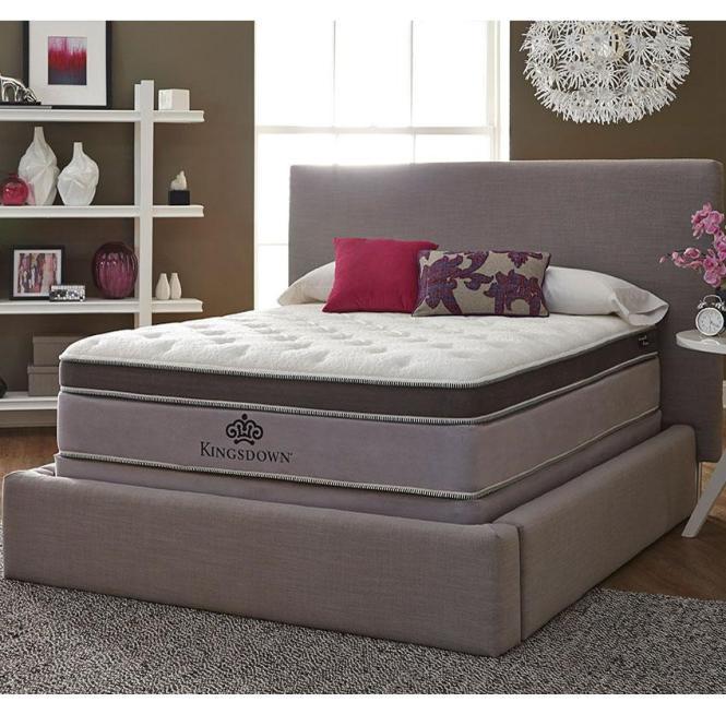 Kingsdown Anniversary Platinum Queen Pillow Top Mattress Item Number Pillowtop Q