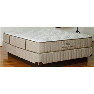 Kingsdown Sleep Haven Manaus Queen Latex Foam Mattress Low Profile Set
