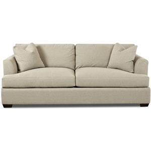bentley casual sectional sofa with slipcover by klaussner paint colours to go grey stationary flared ...
