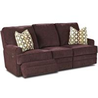 Klaussner Callahan Casual Reclining Sofa with Track Arms ...