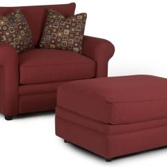 Comfy Chair And Ottoman Pier 1 Dining Chairs Klaussner Casual Dunk Bright Furniture