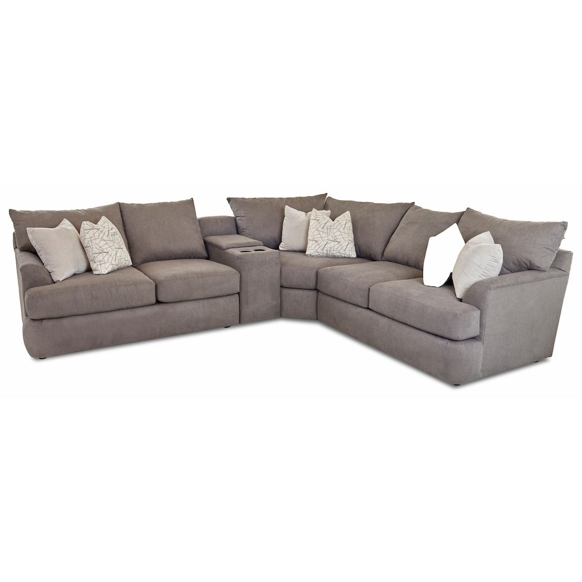 wedge r ls 4 piece sectional sofa