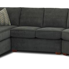 Home Theatre Sectional Sofas Sofa Lounger Canada Klaussner Hybrid With Left-facing ...
