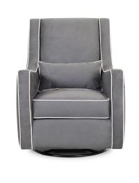 Klaussner Chairs and Accents Contemporary Lacey Swivel ...