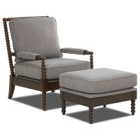 Klaussner Chairs and Accents Rocco Accent Chair and ...