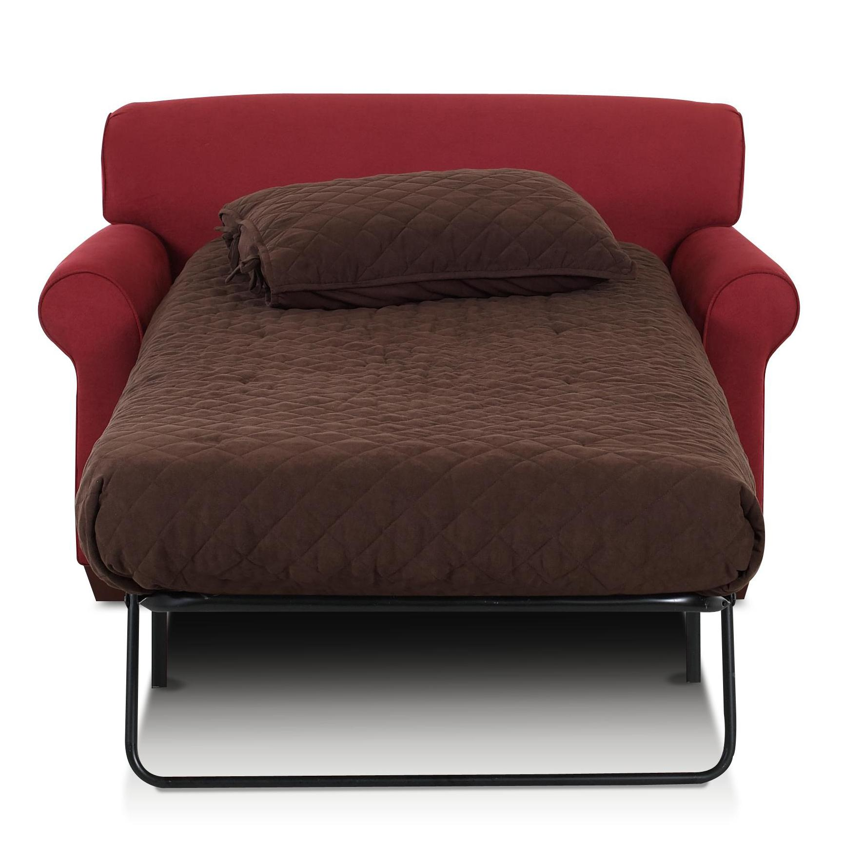 twin chair sleeper sofa european touch pedicure chairs for sale klaussner mayhew with accent pillows johnny janosik innerspring