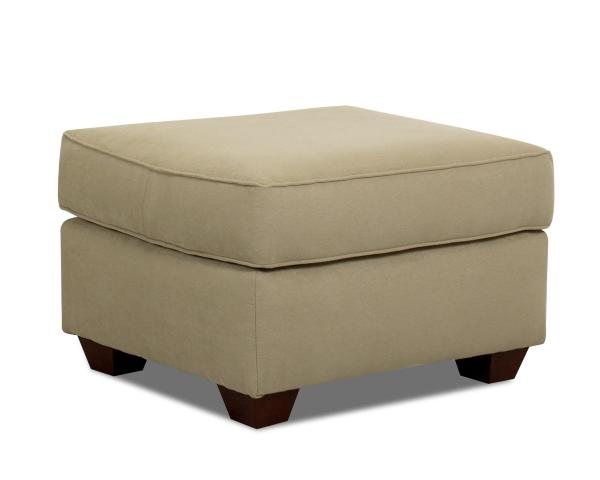 Klaussner Mayhew 97900 Otto Upholstered Ottoman Dunk & Bright Furniture Ottomans