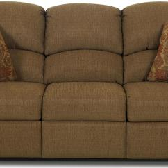 Klaussner Grand Power Reclining Sofa Pier One Alton Mcalister Traditional With Rolled Arms And Winged Pub Back By