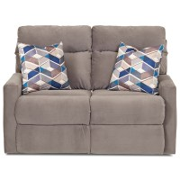 Klaussner Monticello Power Reclining Loveseat with Track ...