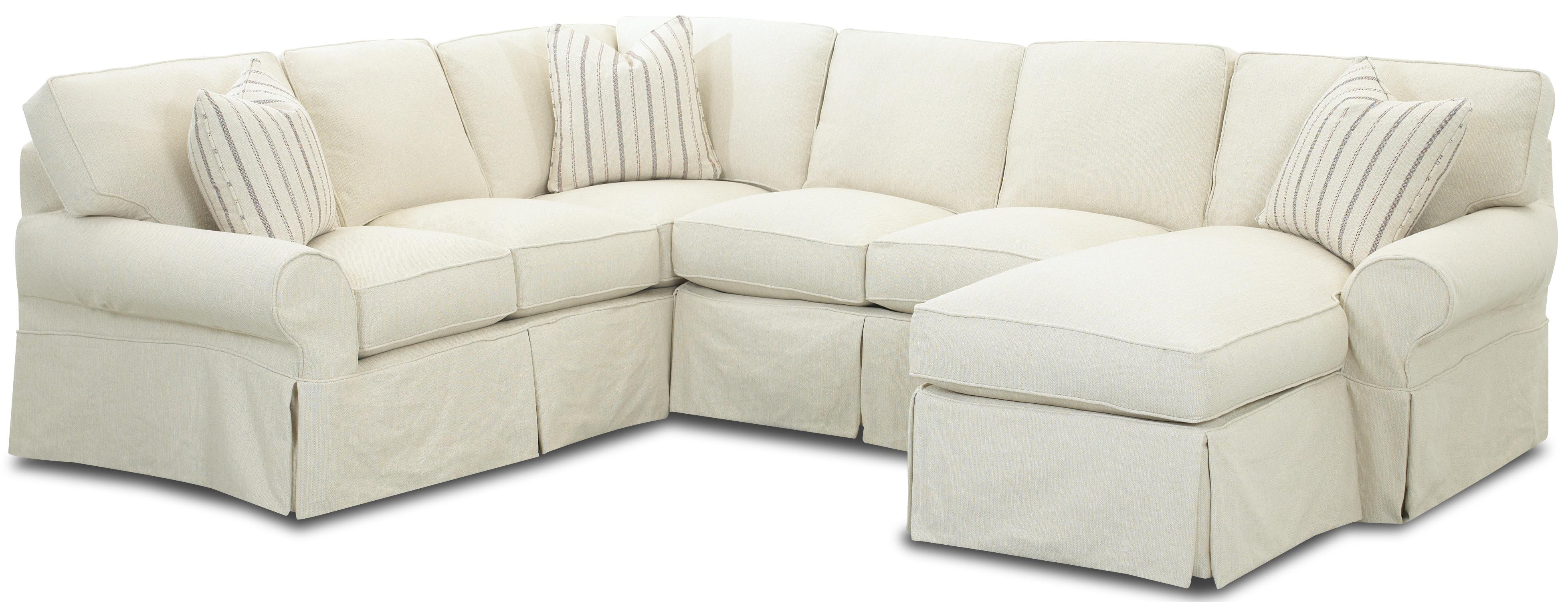 Slipcover Sectional Sofa With Chaise Slipcovers For