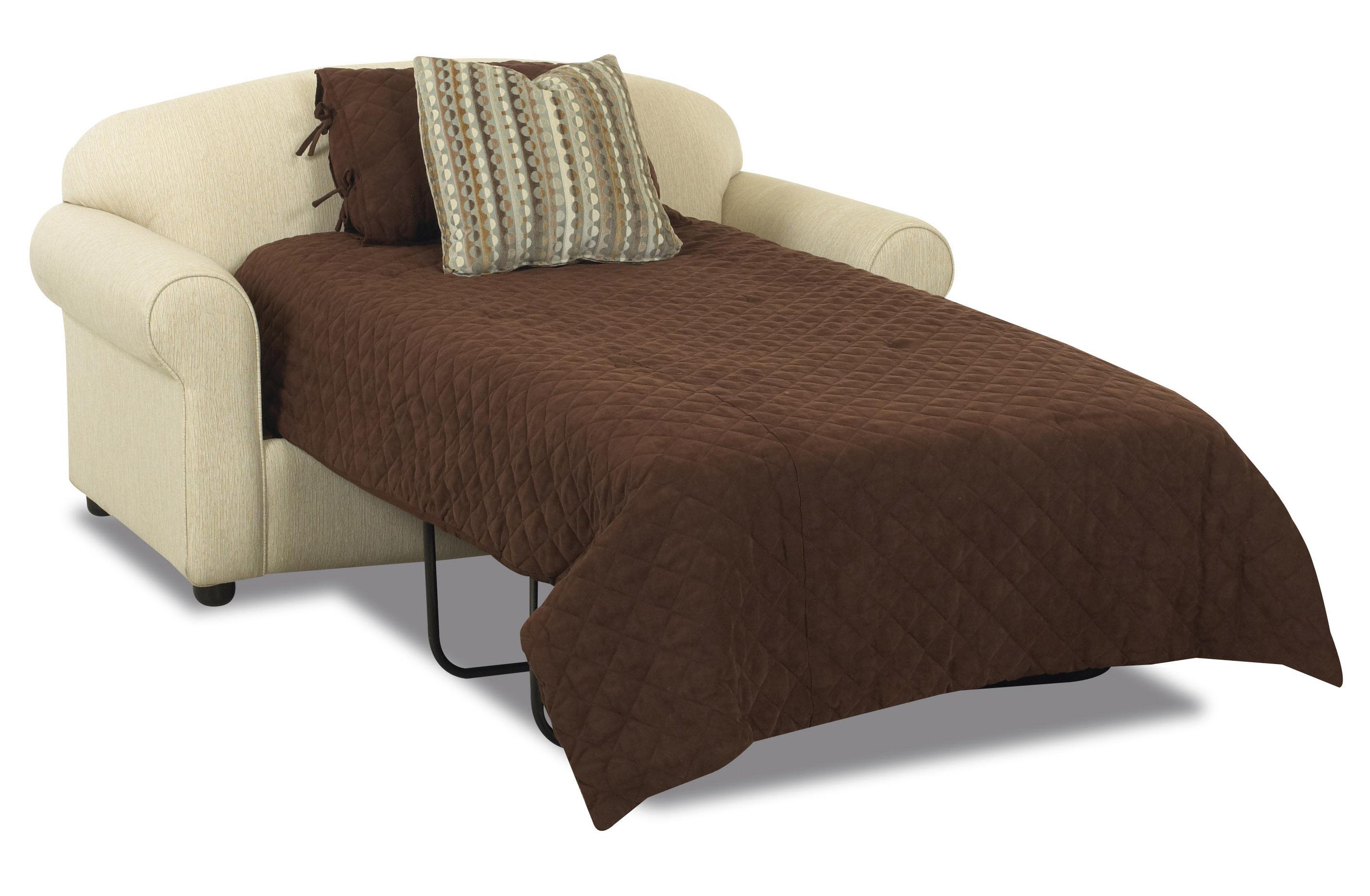 Klaussner Possibilities Innerspring Twin Sleeper Loveseat Value City Furniture Sleeper Sofas