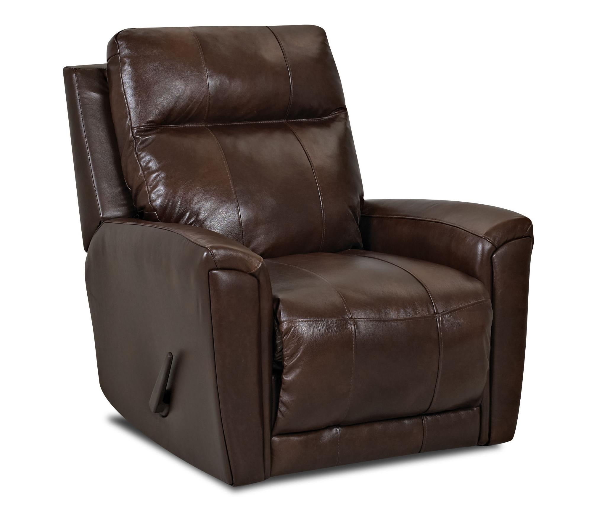 Priest Transitional Reclining Rocking Chair by Klaussner