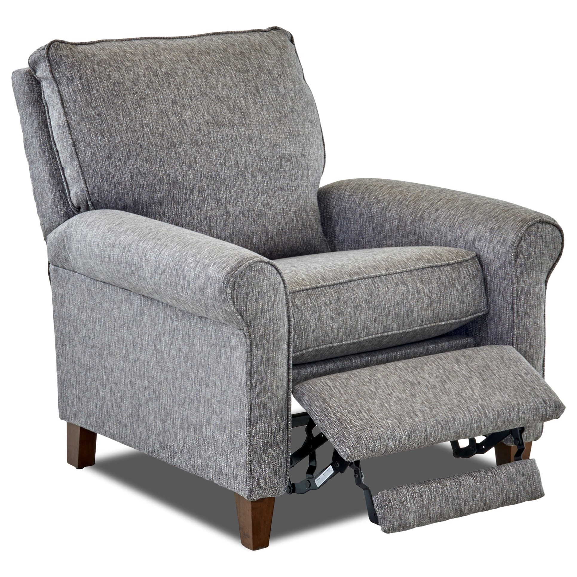Klaussner Township Casual Power Motion High Leg Recliner