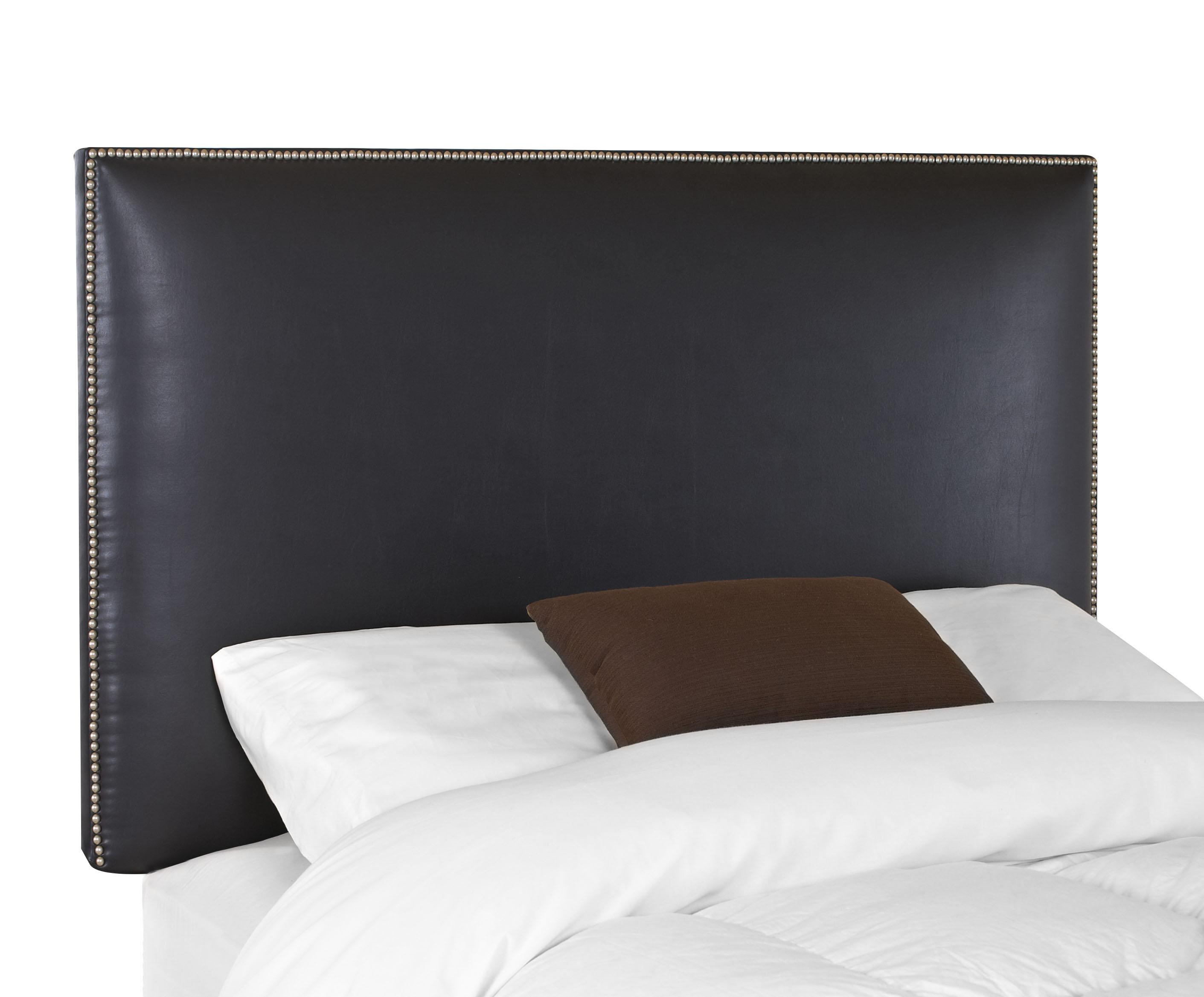Klaussner Upholstered Beds And Headboards 24710 029 Hdbrd Glade Twin Upholstered Headboard With Nail Head Trim Catalog Outlet Headboards