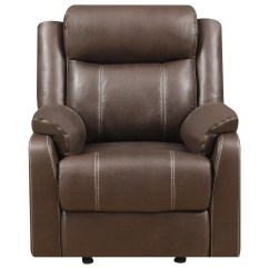 Glider Recliner Chair Snap On Rolling Klaussner International Domino Us Casual Gliding