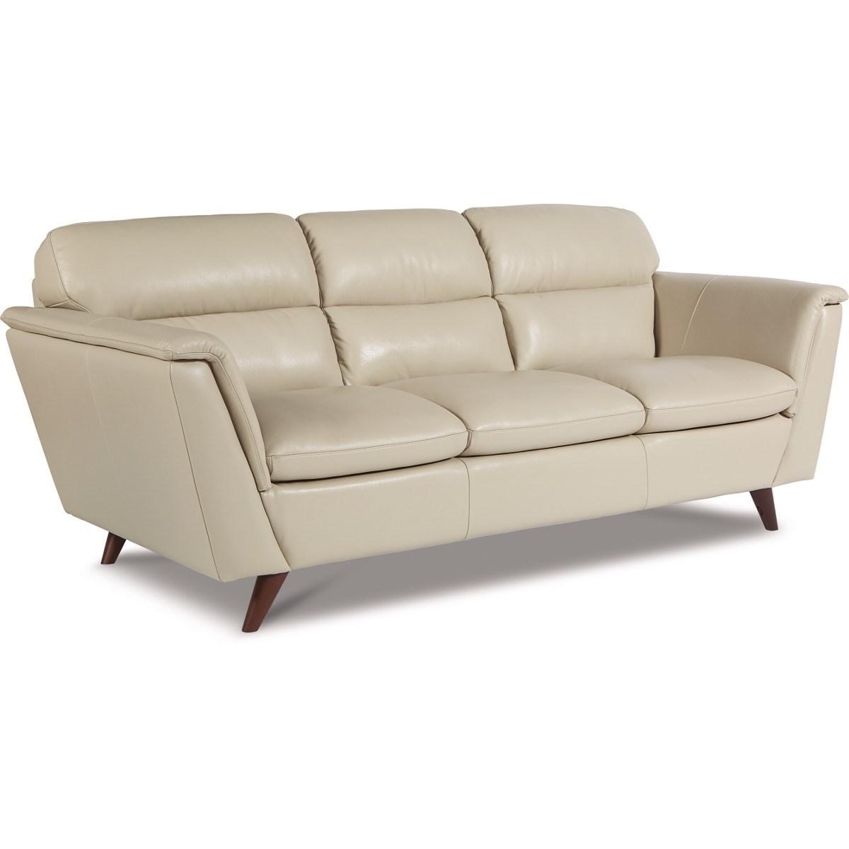 corinthian leather sofa usado la-z-boy arrow mid century modern | vandrie ...