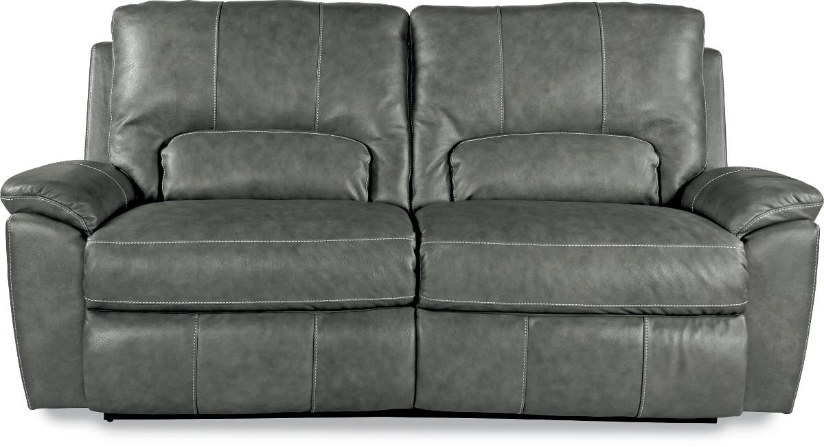grey power reclining sofa sectional under 500 dollars la z boy charger time 2 seat reid s