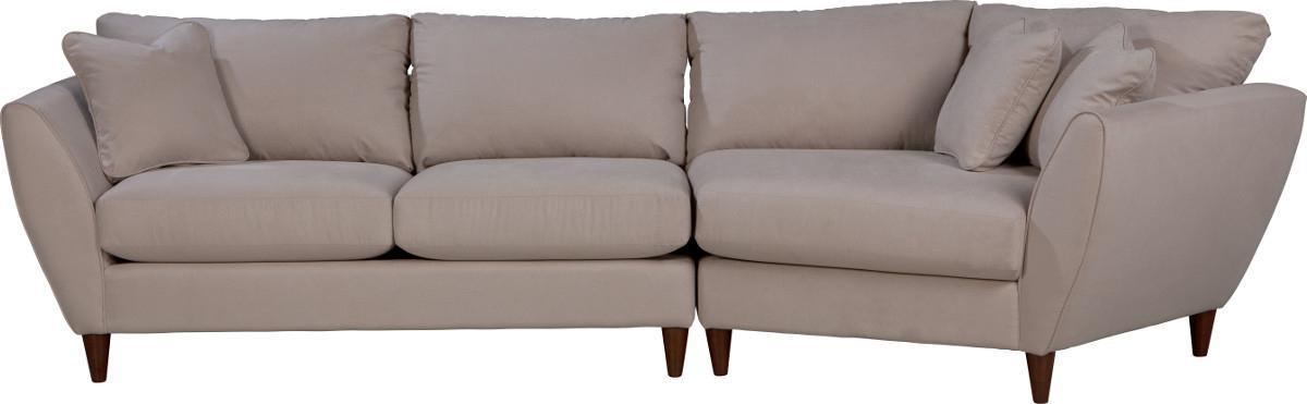 lazy boy microfiber sofa repair buffalo ny la-z-boy tribeca contemporary two piece sectional ...