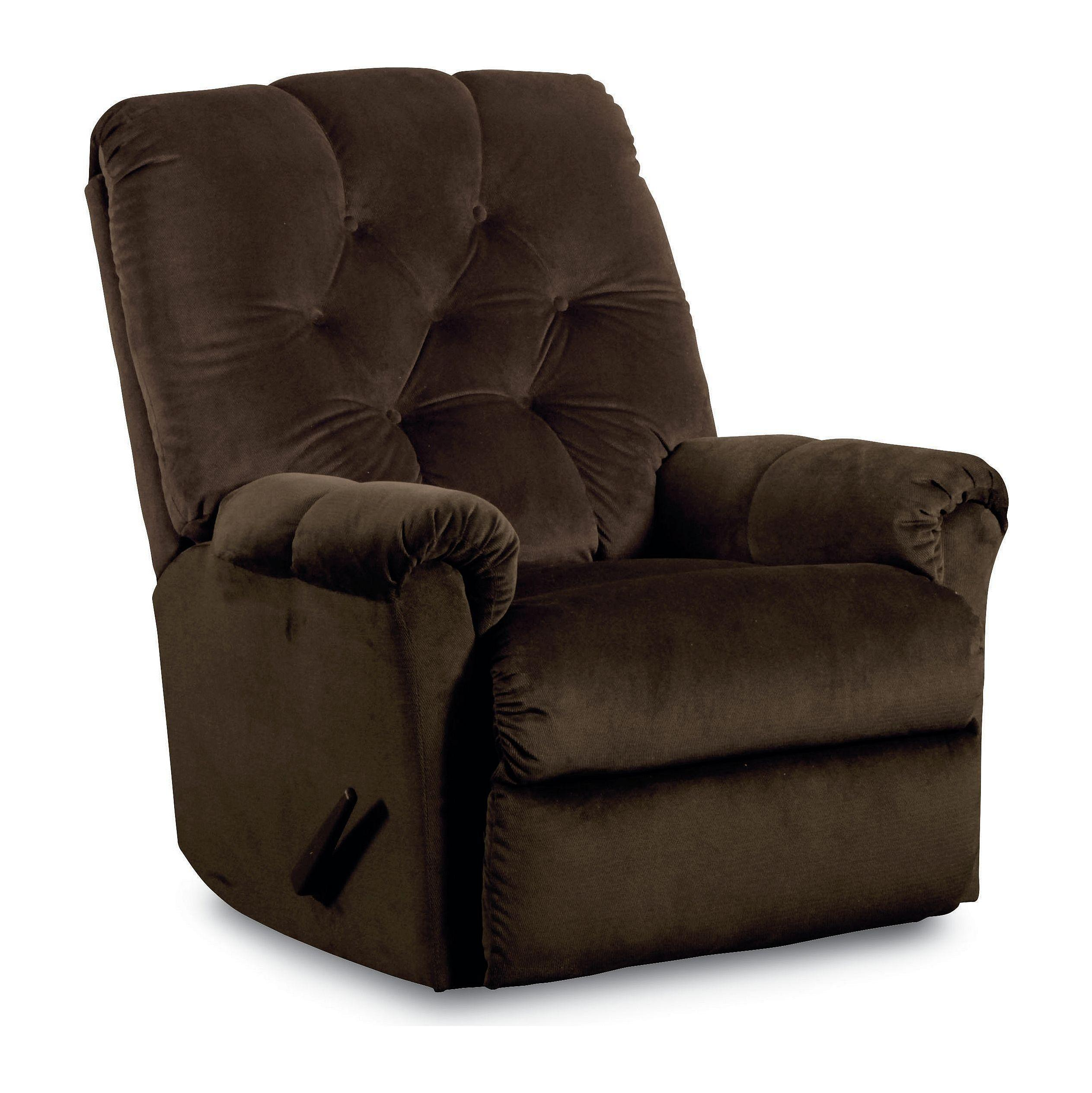 Lane Rocker Recliners 11797S Miles Pad Over Chaise Tufted