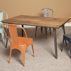 Metal Kitchen Tables Small Idea Largo Timbuktu Wood Rectangular Dining Table Olinde S