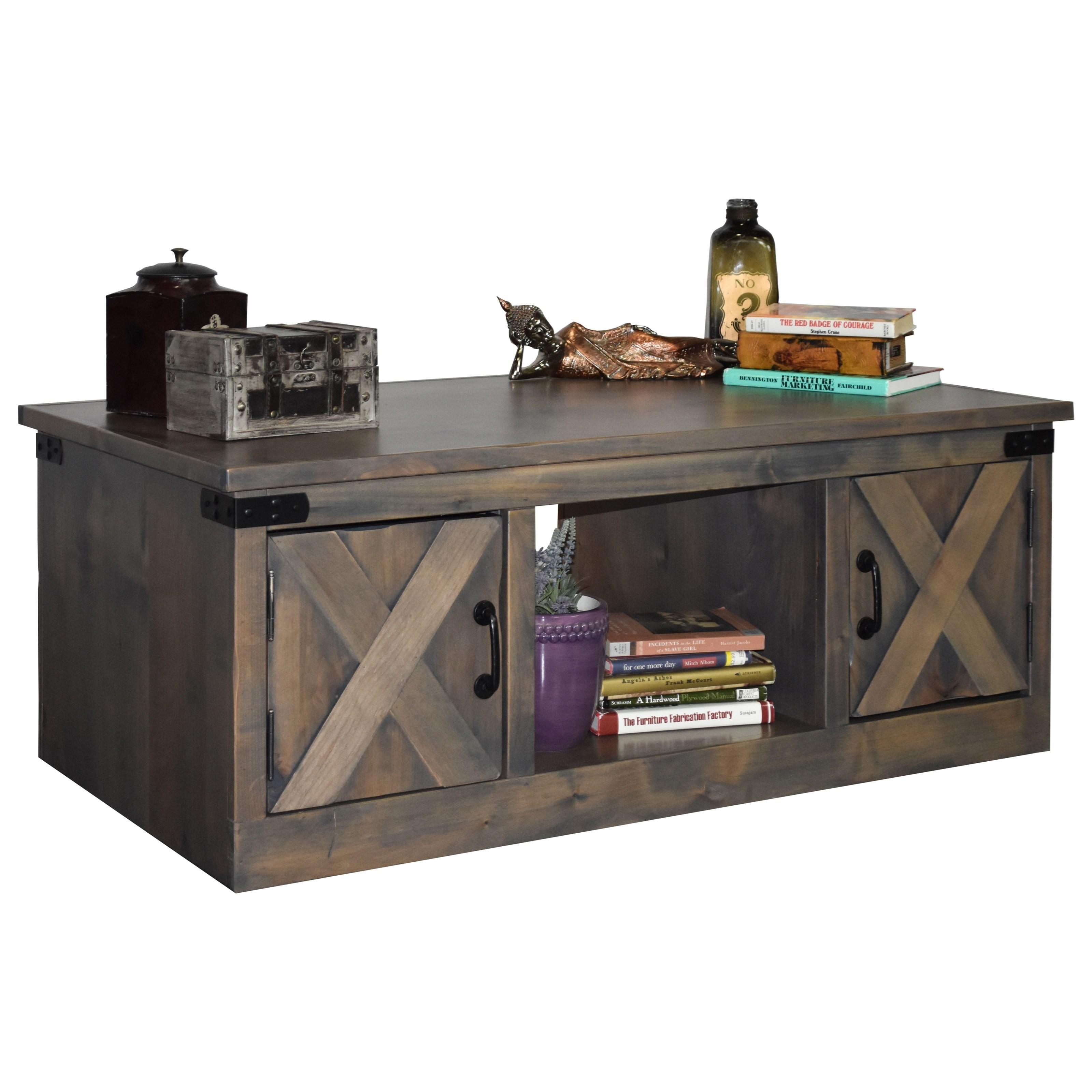 farmhouse collection coffee table