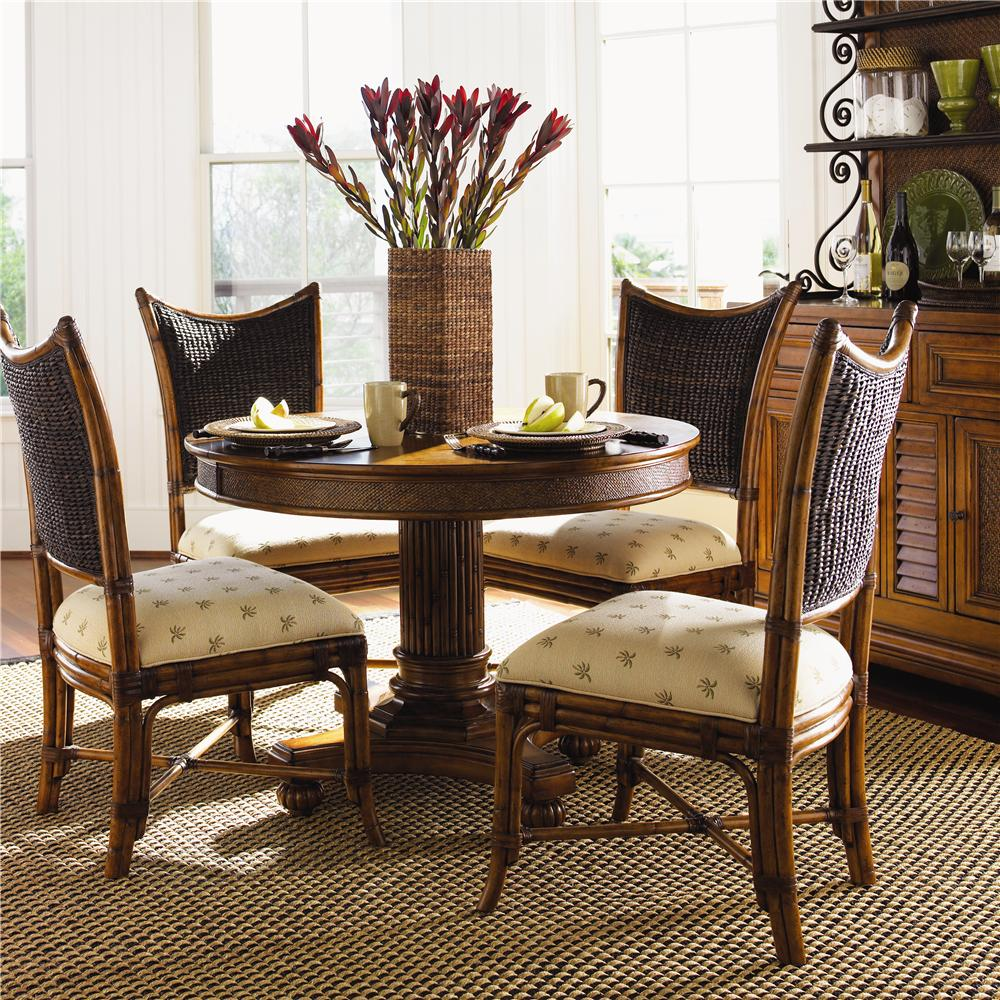 Tommy Bahama Home Island Estate 5 Piece Dining Cayman