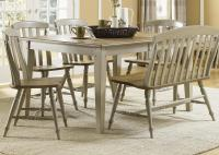 Liberty Furniture Al Fresco Six Piece Dining Table Set