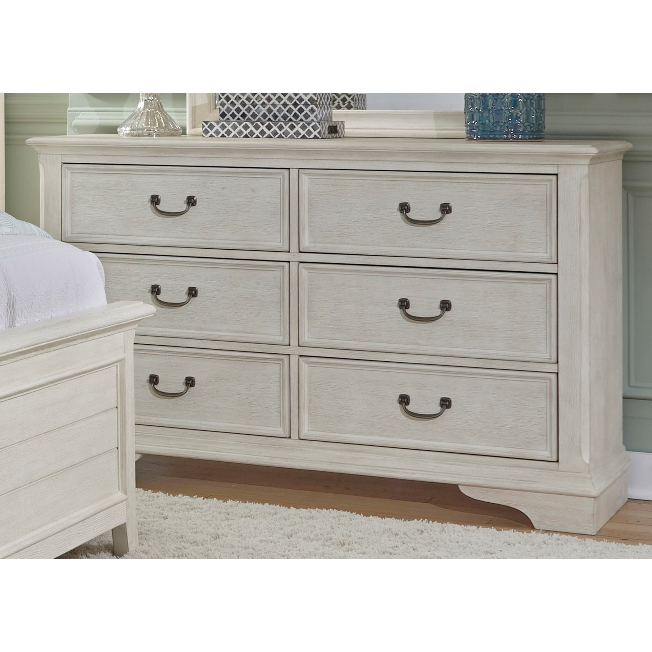 Liberty Furniture Bayside Bedroom Transitional 6 Drawer