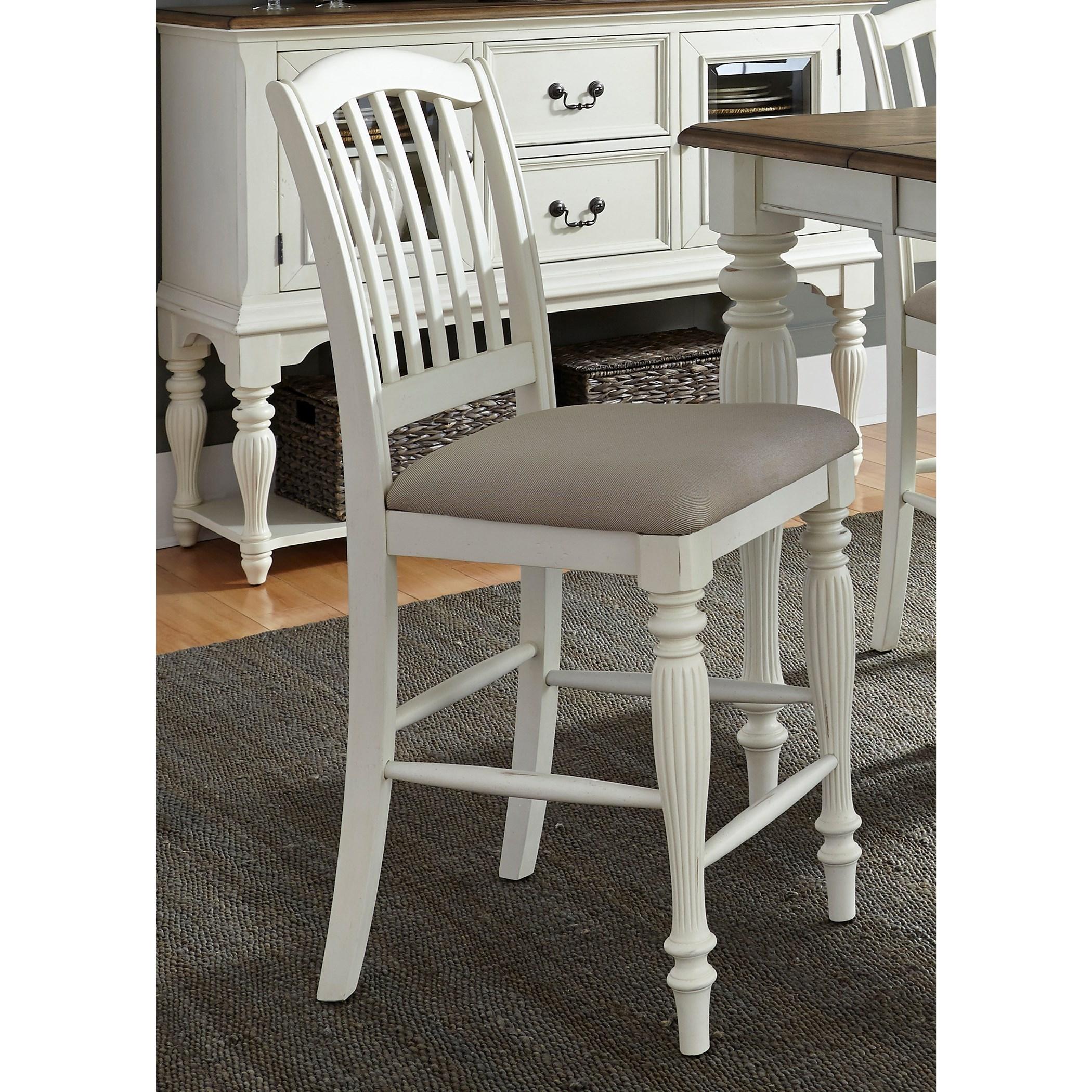 liberty dining chairs metal uk furniture cumberland creek slat back counter chair