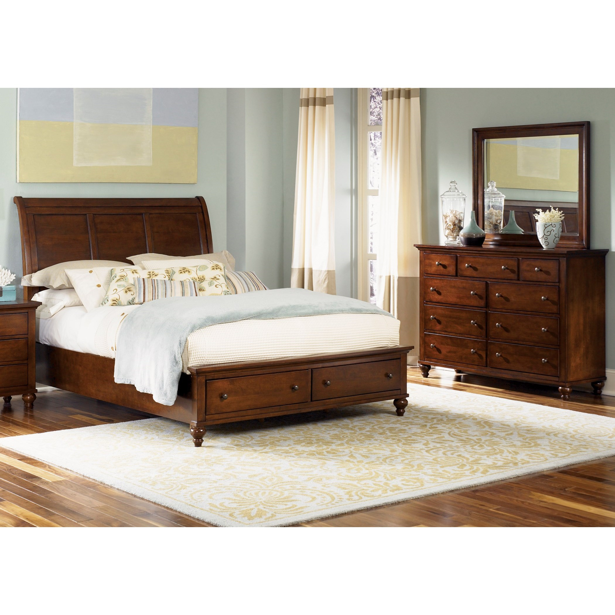 Liberty Furniture Hamilton King Bedroom Group  Royal