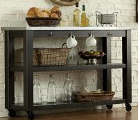 Keaton II Kitchen Serving Table on Casters | Rotmans | Servers