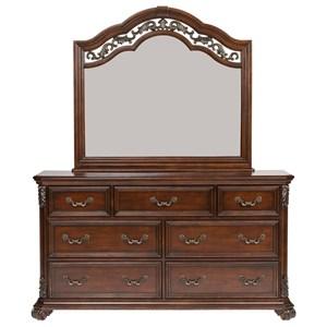 liberty furniture messina estates king