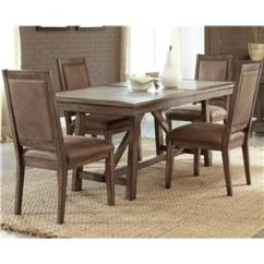 Table And Chairs With Bench Hair Styling Chair Sets Wayside Furniture 5 Pc Trestle Set