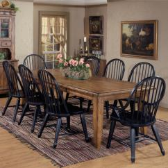 Liberty Dining Chairs Baby Shower Chair Rental Nj Furniture Treasures 9 Piece Leg Table Bowback Set